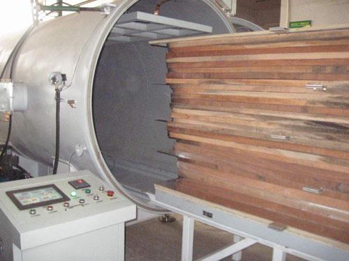 高频真空木材干燥机使用现场
