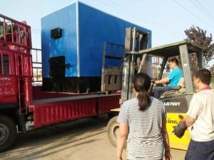 金属体木材烘干设备发货现场