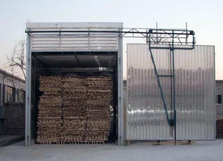 全铝结构木材烘干箱