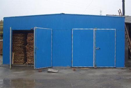 热风蒸汽木材烘干箱